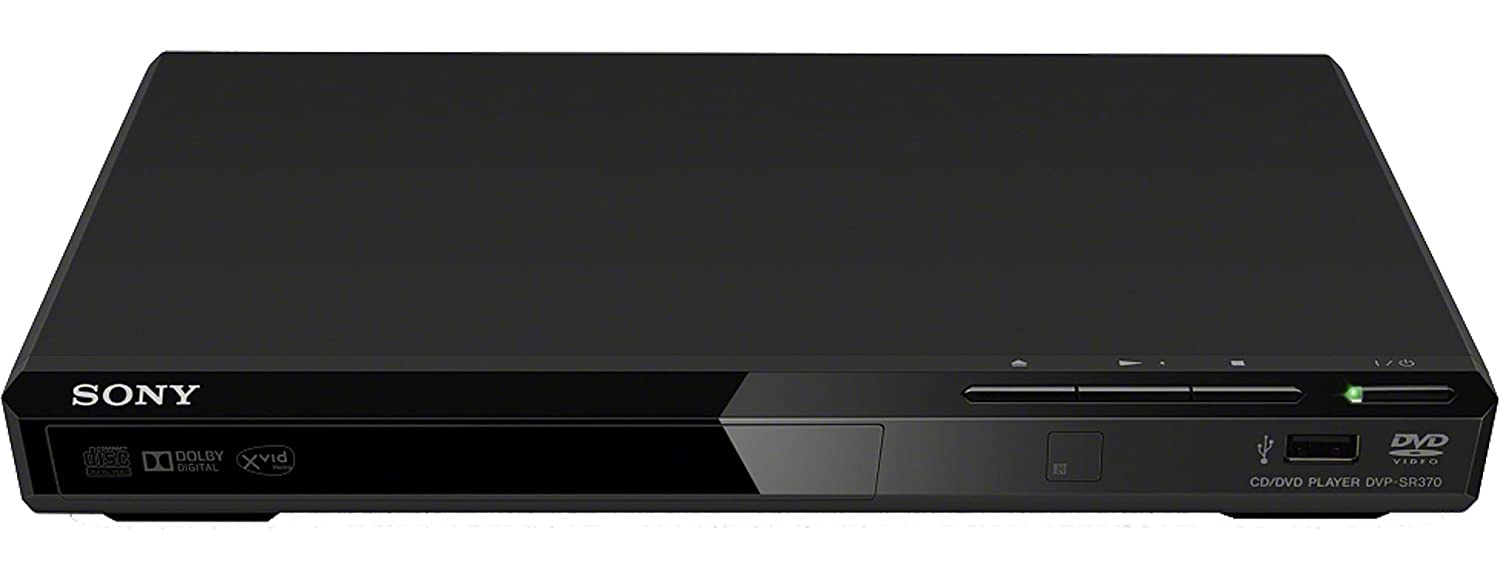 Sony DVP-SR370 Lettore DVD compatibile con CD-Audio.
