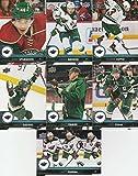2017-18 Upper Deck Hockey Series 1 Minnesota Wild Team Set of 7 Cards: Charlie Coyle(#93), Eric Staal(#94), Jared Spurgeon(#95), Jason Zucker(#96), Jonas Brodin(#97), Matt Dumba(#98), Zach Parise(#99)