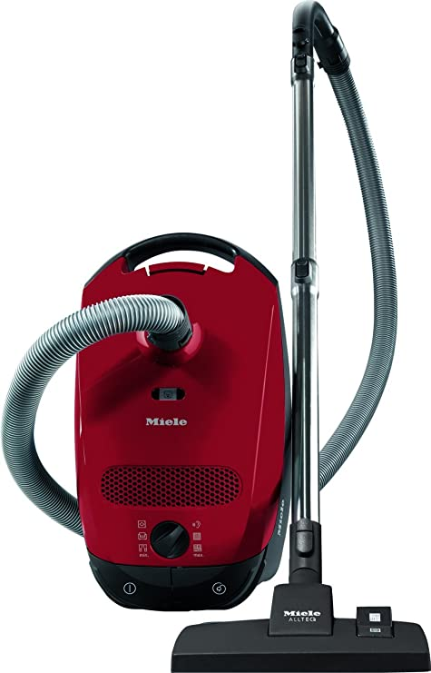 Miele Classic C1 Junior PowerLine Aspiradora de trineo, 1400 W, 3.5 litros, 80 Decibelios, Rojo: Amazon.es: Hogar
