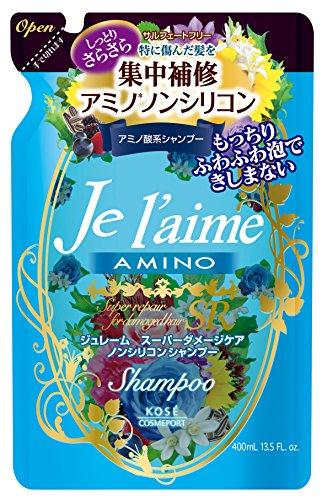 Kose cosmetics port Juremu amino Shampoo Moist & Smooth refill (400mL)