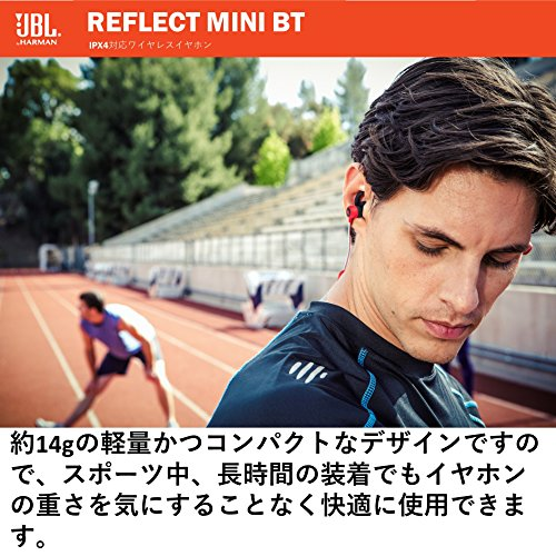 Large Product Image of JBL Reflect Mini Bluetooth In-Ear Sport Headphones, Black