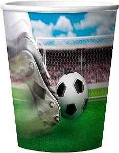 Copa Mundial de Fútbol - Fútbol tema del cumpleaños: Amazon.es: Juguetes y juegos