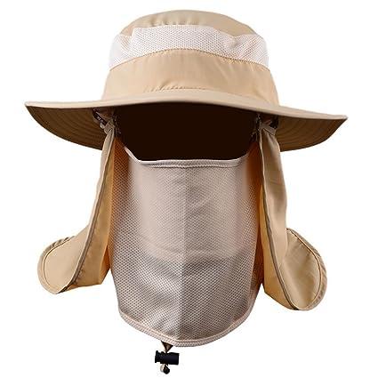 Adeeing Sports UV Protection Face Neck Flap Sun Fishing Hat Mask Headband  Fishing Equipment  Amazon.in  Sports 02b557992f6b