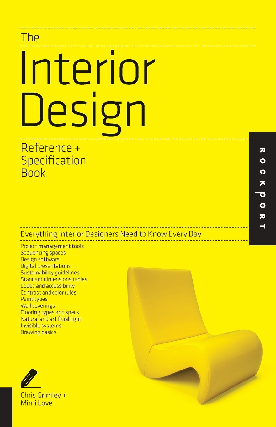 Amazon The Interior Design Reference Specification Book Everything Designers Need To Know Every Day 0884555454798 Linda OShea