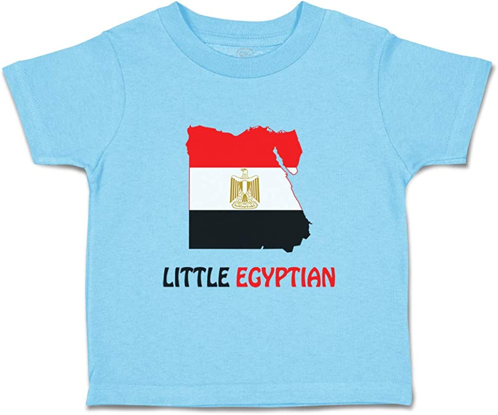 Custom Baby /& Toddler T-Shirt Little Egyptian Cotton Boy Girl Clothes
