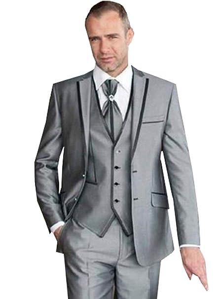 Amazon.com: Blazer - Conjunto de chaleco y pantalones para ...
