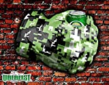 Uberfist Camo Army Right Hand Hulk Beer Fist, Beer Koozie, Beverage Holder, Bottle, Can, Cup, Drinking Fist, Foam Beer Fist, Gift