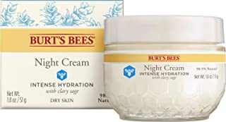 product image for Burt's Bees Intense Hydration Night Cream, Moisturizing Night Lotion, 1.8 Oz (Package May Vary)