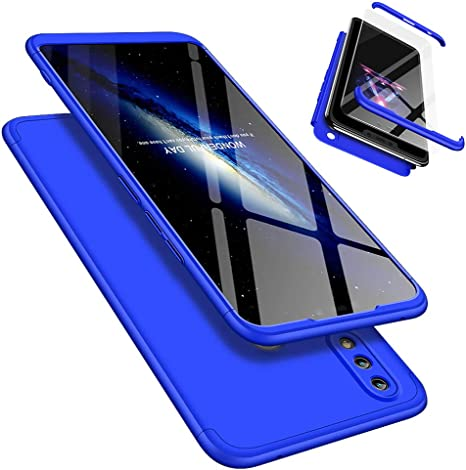 Funda Huawei Honor 8X 360°Caja Caso + Vidrio Templado Laixin 3 in ...
