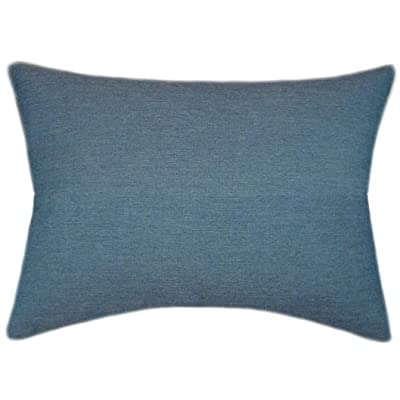 TPO Design, Sunbrella Cast Lagoon Indoor/Outdoor Patio Pillow 12x18 (Rectangle): Home & Kitchen