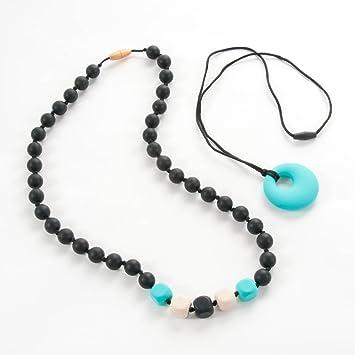 Amazon.com: Sassy bebé Beads® Masticar de Silicona dentición ...