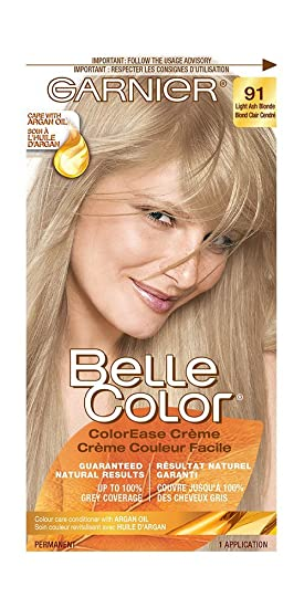 Garnier Belle Color Cream In 91 Light Ash Blonde. Guaranteed Natural  Results. Up To Amazing Pictures