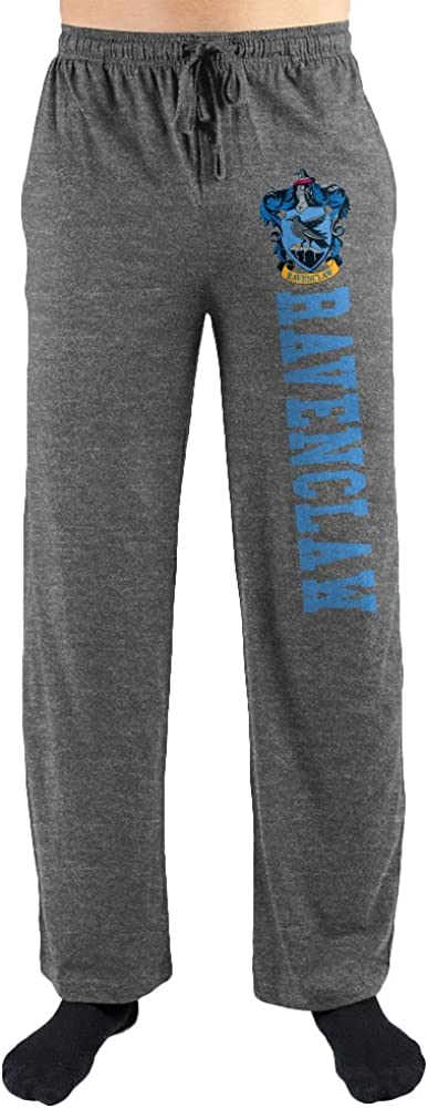 Harry Potter Hogwarts Ravenclaw House Print Men's Loungewear Lounge PantsXX-Large