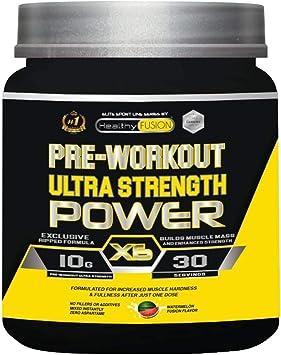 Pre-entreno ultra concentrado   Potente pre-workout con beta alanina + l-arginina AAKG + creatina + cafeína + taurina   Potencia el desarrollo ...
