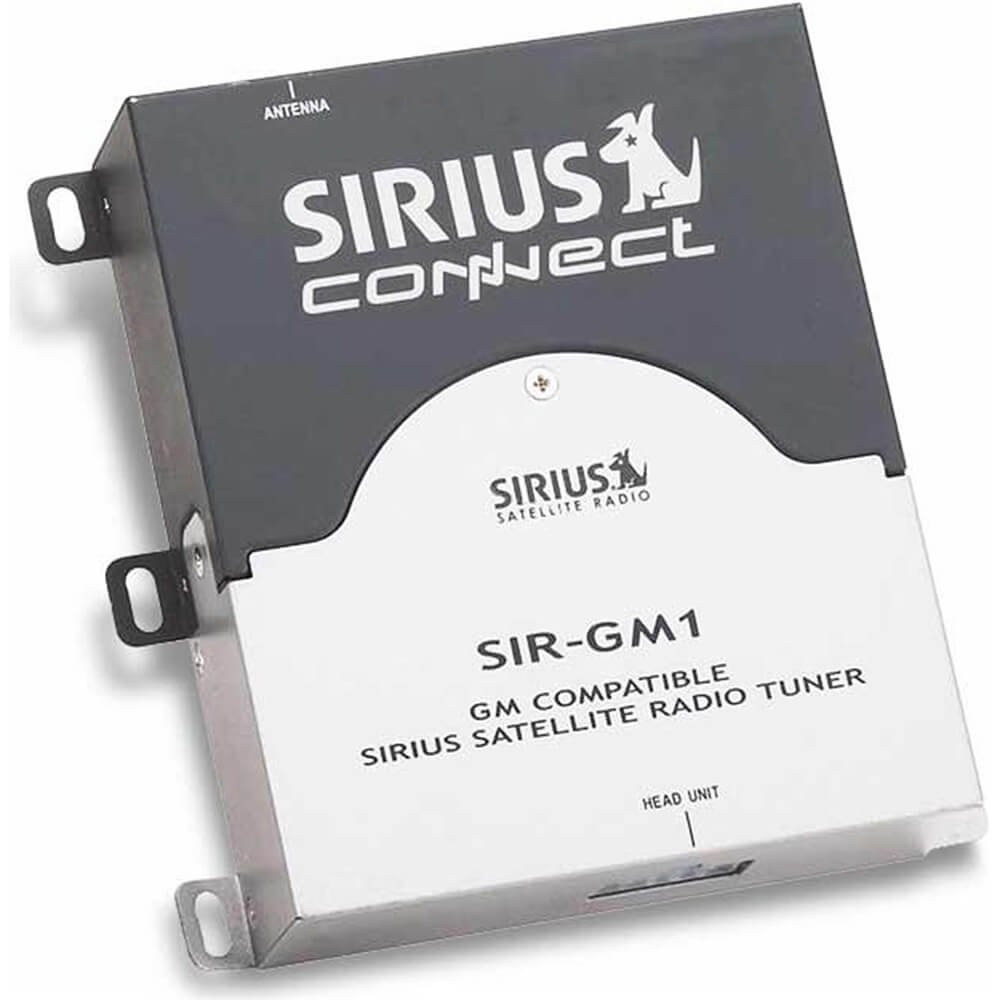 Sirius Sirgm1 Connect For Gm Radios Electronics 2006 Chevy Colorado Factory Audio Wiring