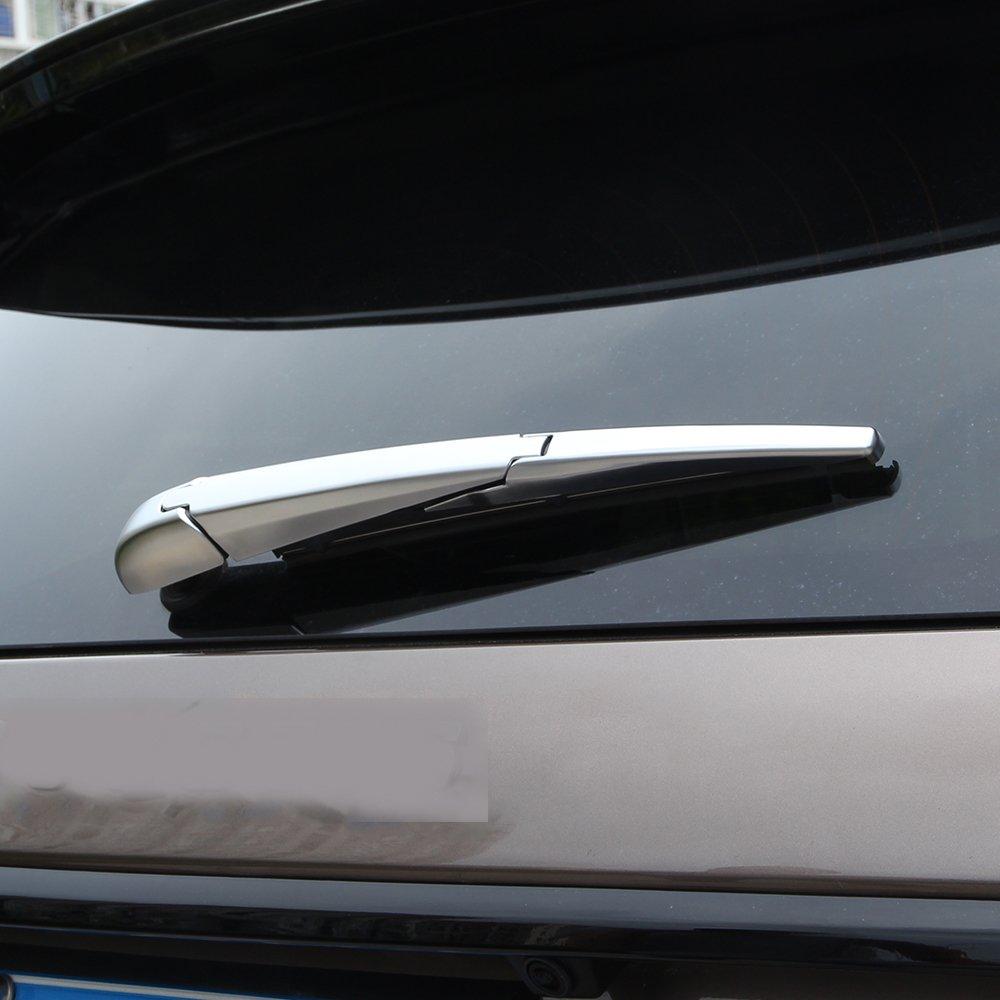 Pour Discovery Sport ABS Chromé d'essuie-glace arrière Coque Trim Car-styling 2015+ BEINSTOCK