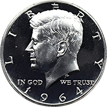 1982 S Proof Kennedy Half Dollar Coin 50 Cent JFK taken from US Mint Proof Set