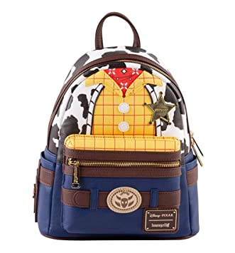 Loungefly Disney Toy Story Woody Mini Backpack NEW Bag School