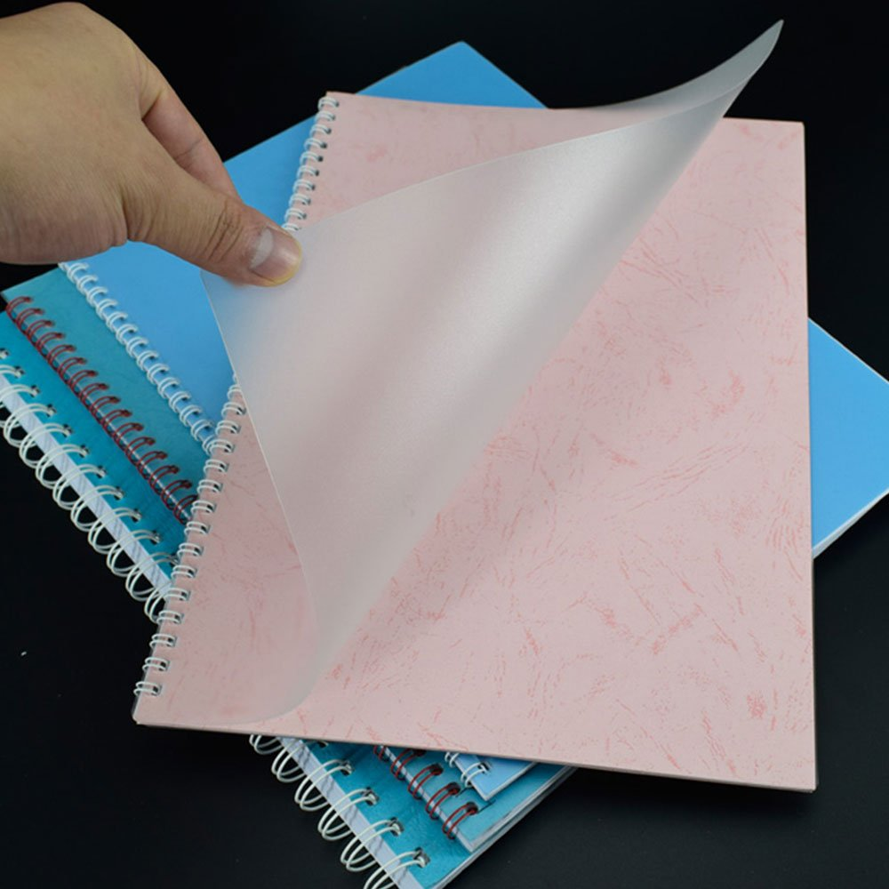 100//Pack Rayson 0.2mm//7mil Thickness PP Clear Cover Plastic 8-1//2 /× 11 Inches Binding Covers PP-2-100-C