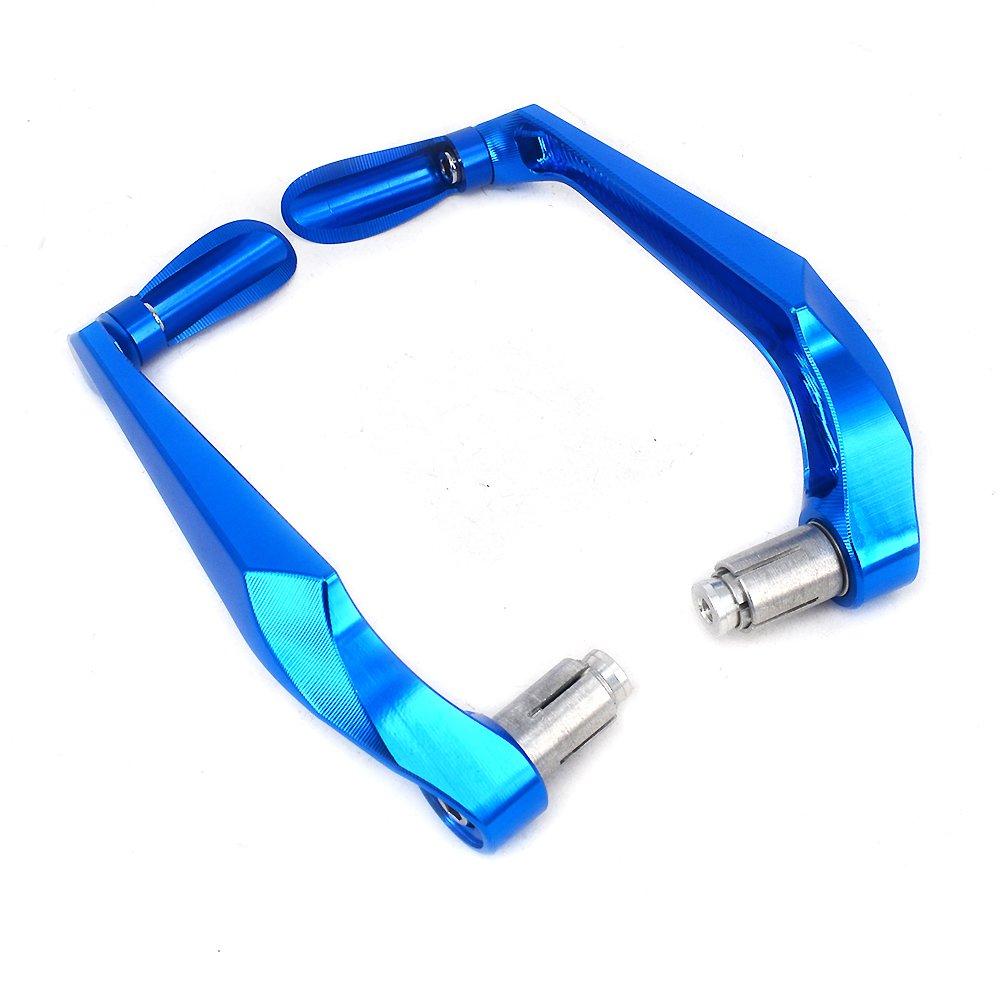 3D CNC blu leve freno frizione Protector Paramani 7//20,3 cm universale per manubrio in alluminio per pi/ù sport Street motorcycle motocross Dirt Bike ATV Yamaha YZ80 85 125 250F WR125 250 250F Enduro