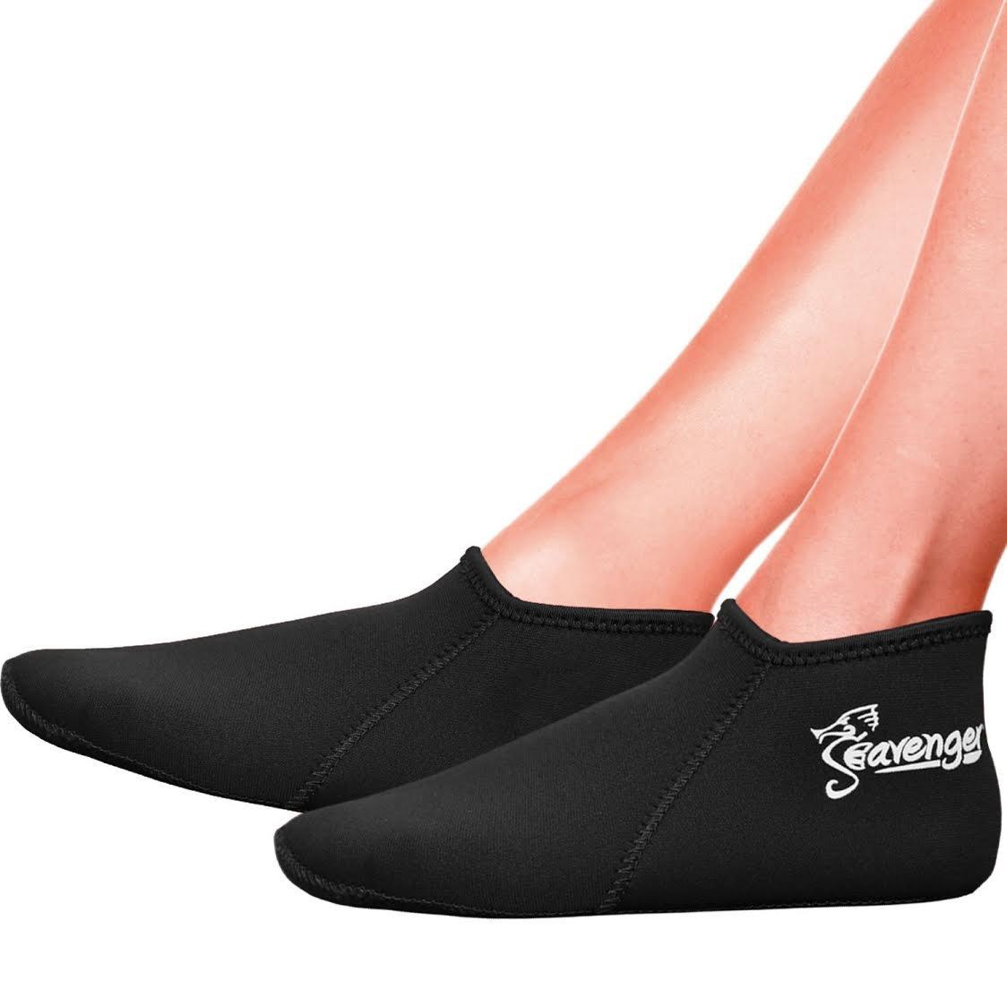 Seavenger Zephyr 3mm Neoprene Socks for Scuba Diving Snorkeling Swimming All Water Sports