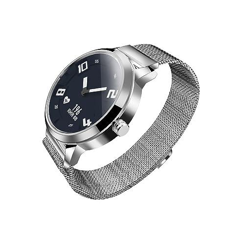 Docooler Lenovo Watch X Reloj Inteligente 80ATM Luminoso Puntero a Prueba de Movimiento de Movimiento del