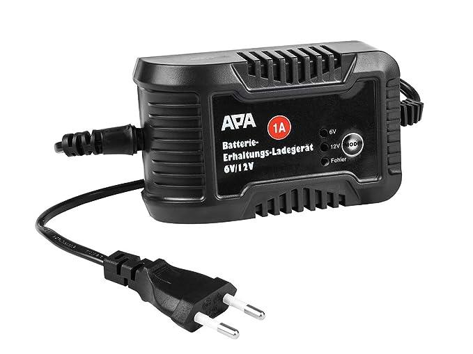 APA cargador 16496 6 V, 12V 1A: Amazon.es: Electrónica