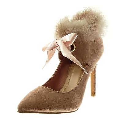 les ventes chaudes livraison rapide sélectionner pour le meilleur Angkorly - Chaussure Mode Escarpin Decolleté Stiletto Femme ...