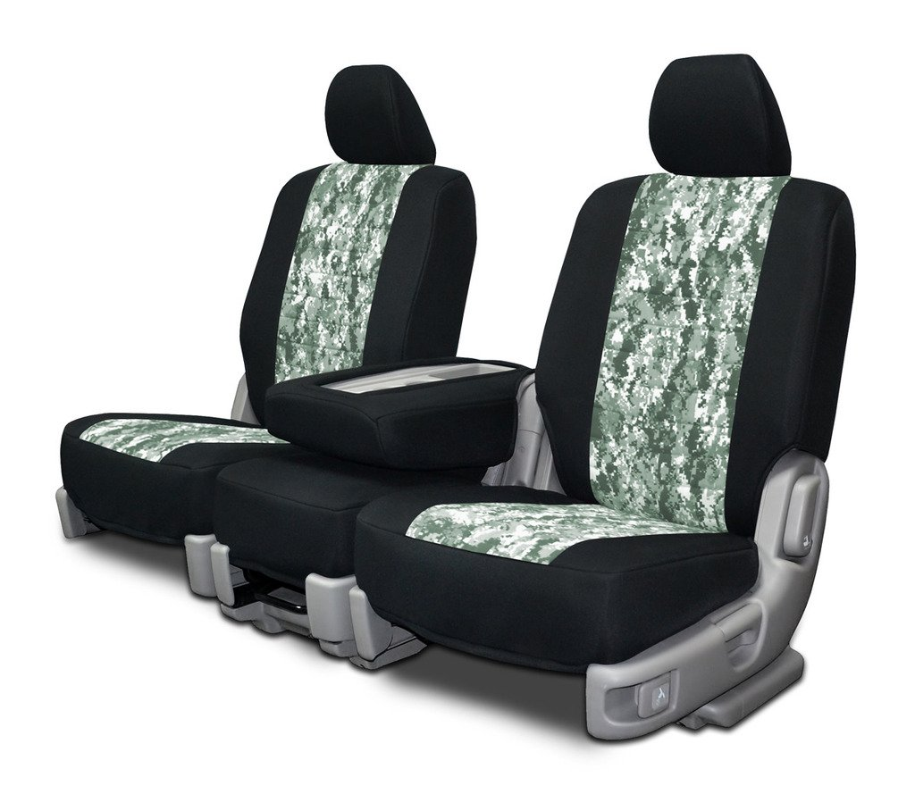 Amazon Custom Fit Seat Covers For Ford F 150 60 40 Seats Neoprene Realtree Hardwoods Camo Automotive