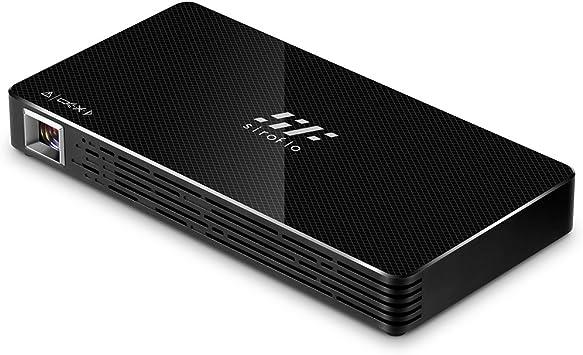 Amazon.com: Mini proyector portátil DLP, Siroflo Multimedia ...
