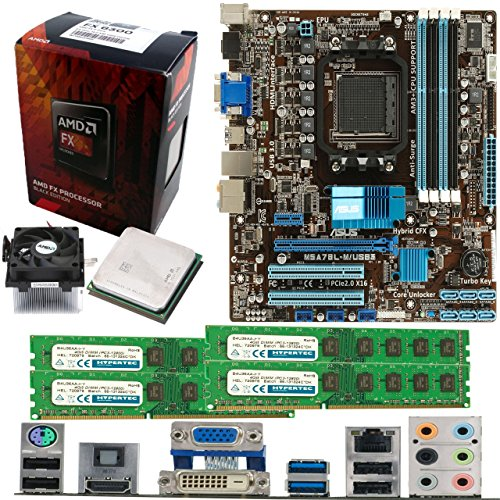 AMD Bulldozer FX-6300 6 Core 3.5Ghz, ASUS M5A78L-M USB3 Motherboard & 32GB...