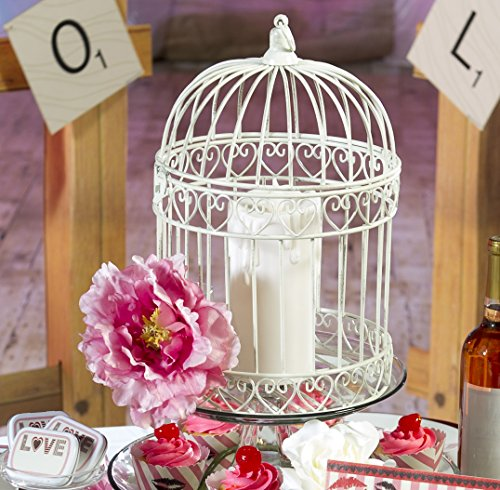 Indoor/Outdoor Decorative Bird Cage Latern (Small Decorative Bird Cages)