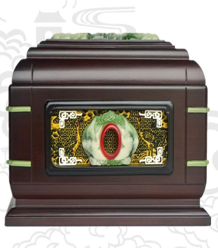 QYZLT and exquisite carved coffin funeral supplies crafts peace pet coffin funeral supplies crafts peace pet coffin brown