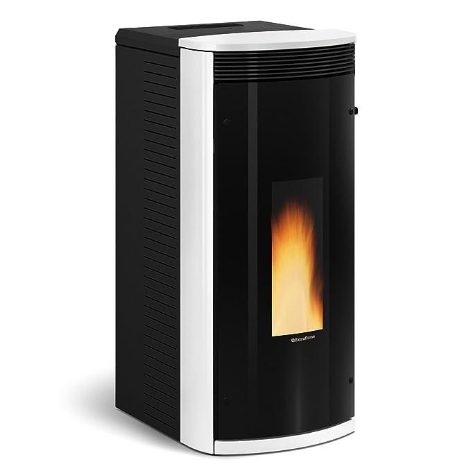 Extra de la llama X1280700 Sibilla pellet estufa de colour burdeos: Amazon.es: Bricolaje y herramientas