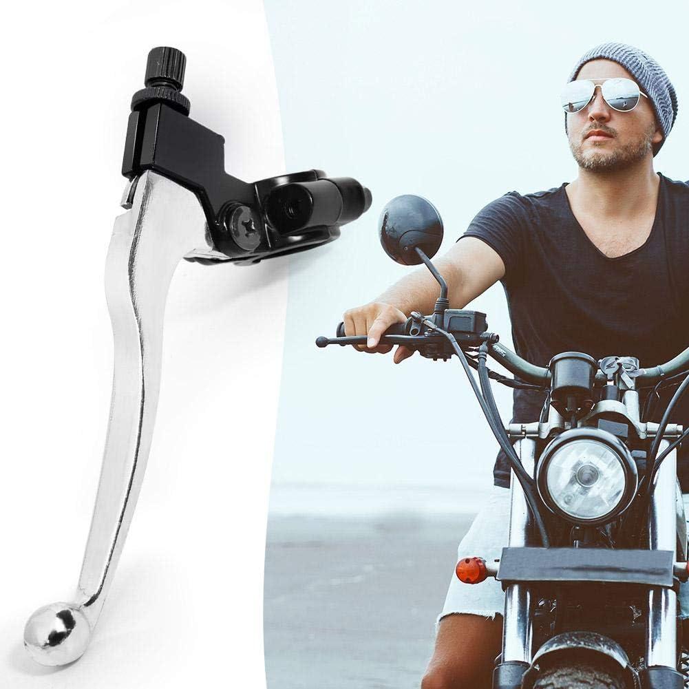 Starnearby Leva di Frizione Alluminio Sinistro 22/mm 7//8/Pollici Leva Frizione del Manubrio per Pit Dirt Bike ATV Nero