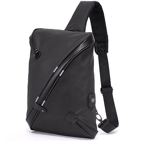Bolso Cruzado Grande para Hombre - Mochila de Bandolera con USB Carga  Antirrobo f81d6cecac78