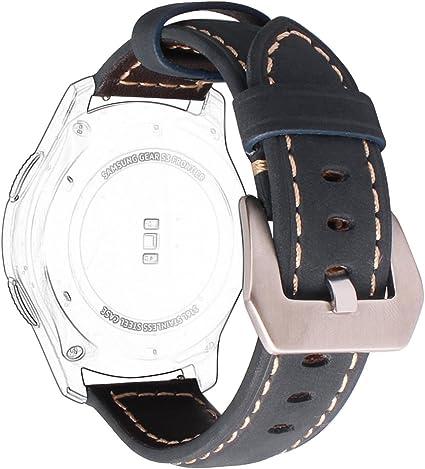 Correas Samsung Gear S3 Cuero,Correa Samsung Gear S3 Frontier Correas Gear S3 Classic Rosa Schleife