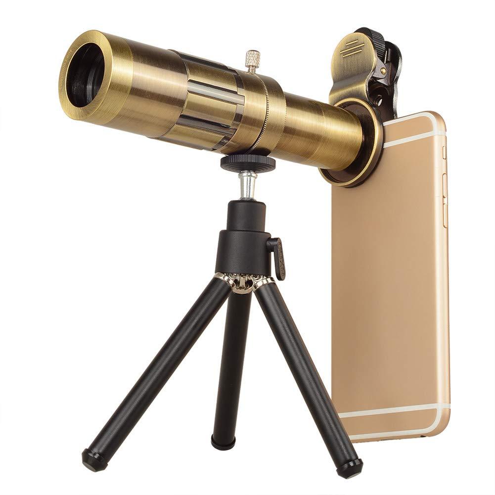 DOOLST 携帯電話カメラレンズ 望遠鏡レンズ 真鍮 光学HD 20倍ズーム電話レンズ 望遠レンズキット 三脚付き 三脚付き 真鍮 B07GR2SHMC B07GR2SHMC, シモニタマチ:86bf5f61 --- ijpba.info