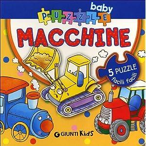 Macchine Ediz Illustrata Con 5 Puzzle Copertina Rigida 25 Gen 2012