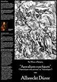 "Albrecht Durer - The Whore of Babylon (Fine Art Print on 11.7"" x 16.5'' Sheet)"