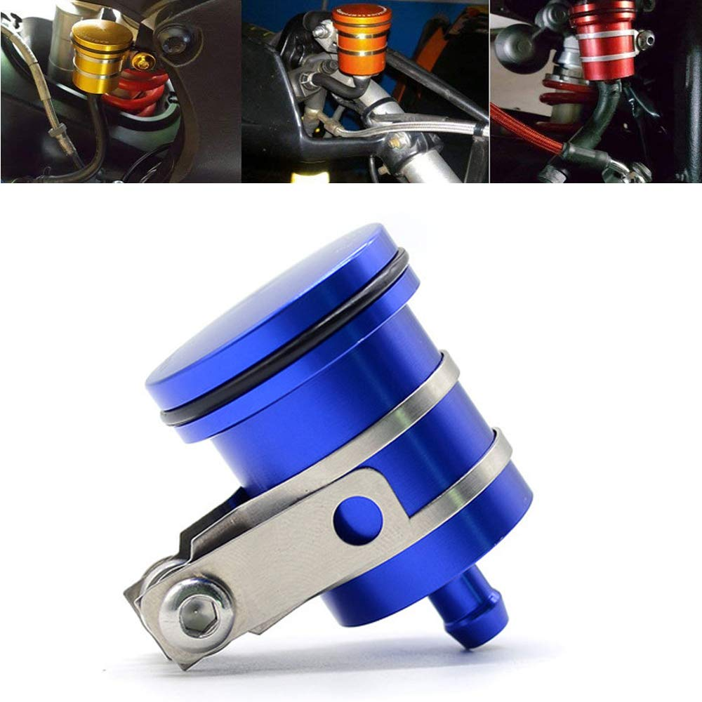 Motorcycle Aluminum Brake Clutch Fluid Reservoir Front or Rear Oil Cup For Aprilia RX//RXV//RXV RXV//SXV APR RSV MILLE RSV4 R Tuono For Ducati Testastretta Diesel 1000 1100 796 696