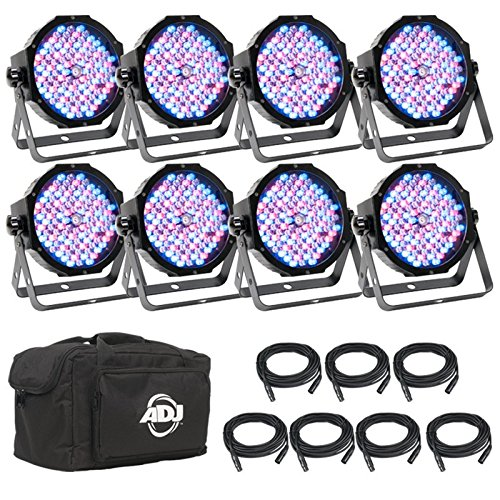 ADJ Products Stage Light Unit MEGA FLAT PAK 8
