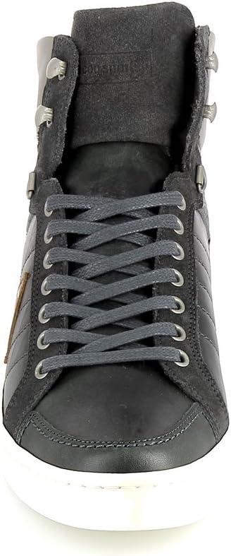 Le Coq Sportif Perpignan Mid Leather Suede Dark Shadow
