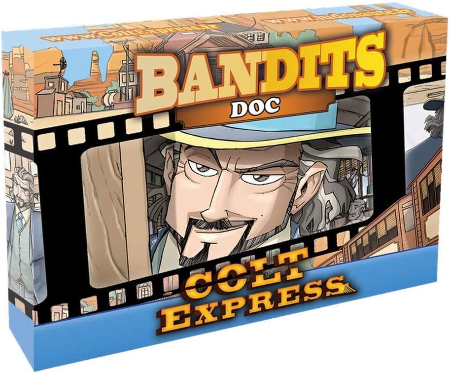 ludonaute ludd0012 Colt Express – Bandits Doc, ampliación: Amazon ...