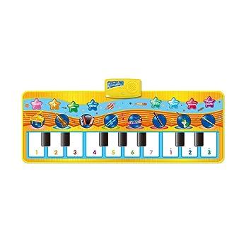 Alfombra Piano Teclado Táctil Musical Touch Juego Musical ...
