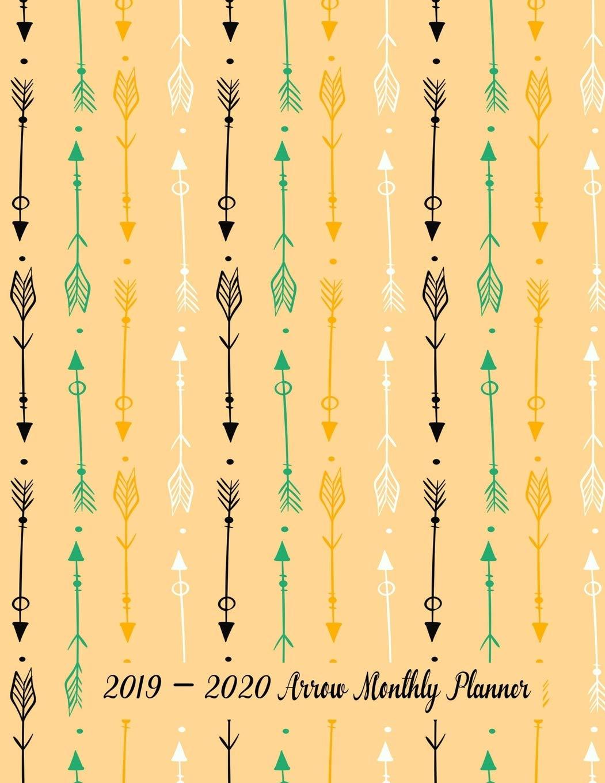 Best Arrows 2020 Amazon.com: 2019   2020 Arrow Monthly Planner: 24 Months Pretty