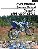 CPP-160-P 1998-2004 Yamaha YZ125 Cyclepedia Printed Motorcycle Service Manual