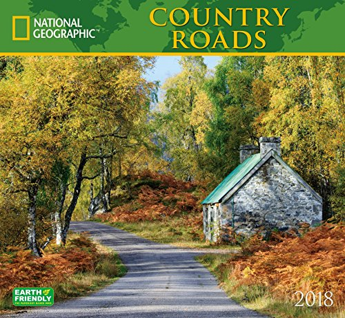 National Geographic Country Roads 2018 Wall Calendar