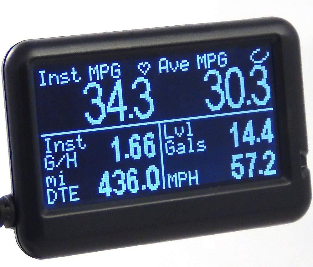 UltraGauge Automotive OBD2 Scanner, Code Reader, Gauges & Mileage  Calculator - All New v1 4