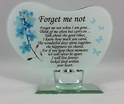 02ac4f600 Image Unavailable. Image not available for. Colour: Forget me not when I ...